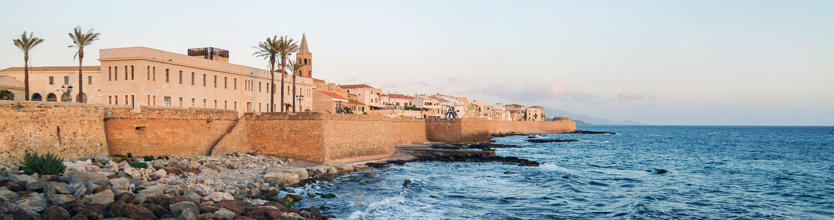 Panorama di Alghero Sardegna