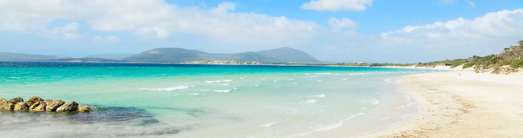 Spiaggia di Maria Pia, Alghero Sardegna