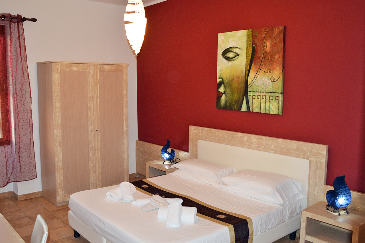 Camere ad Alghero, Camera Amaranto Butterfly Accomodation
