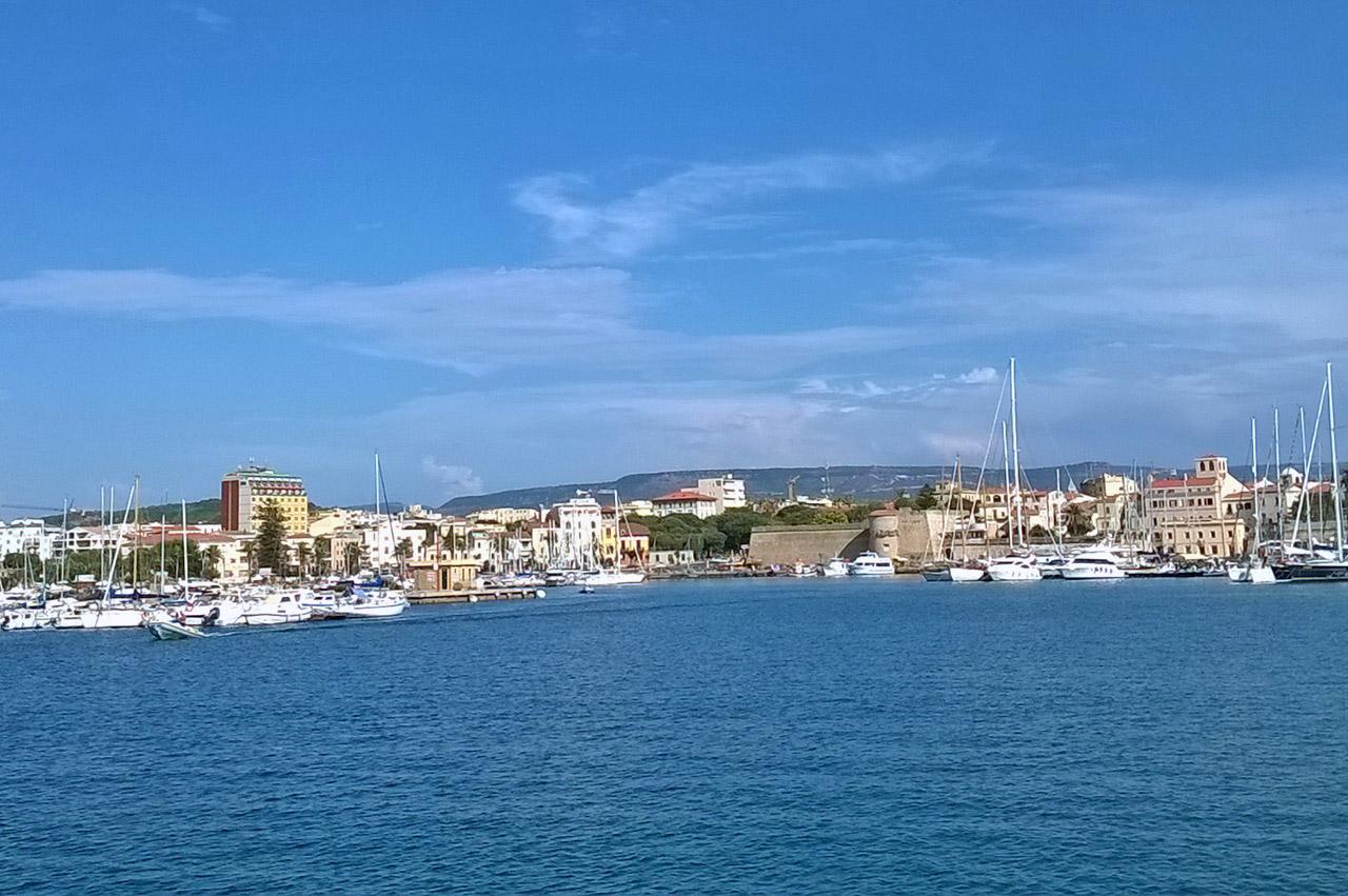Il porto di Alghero