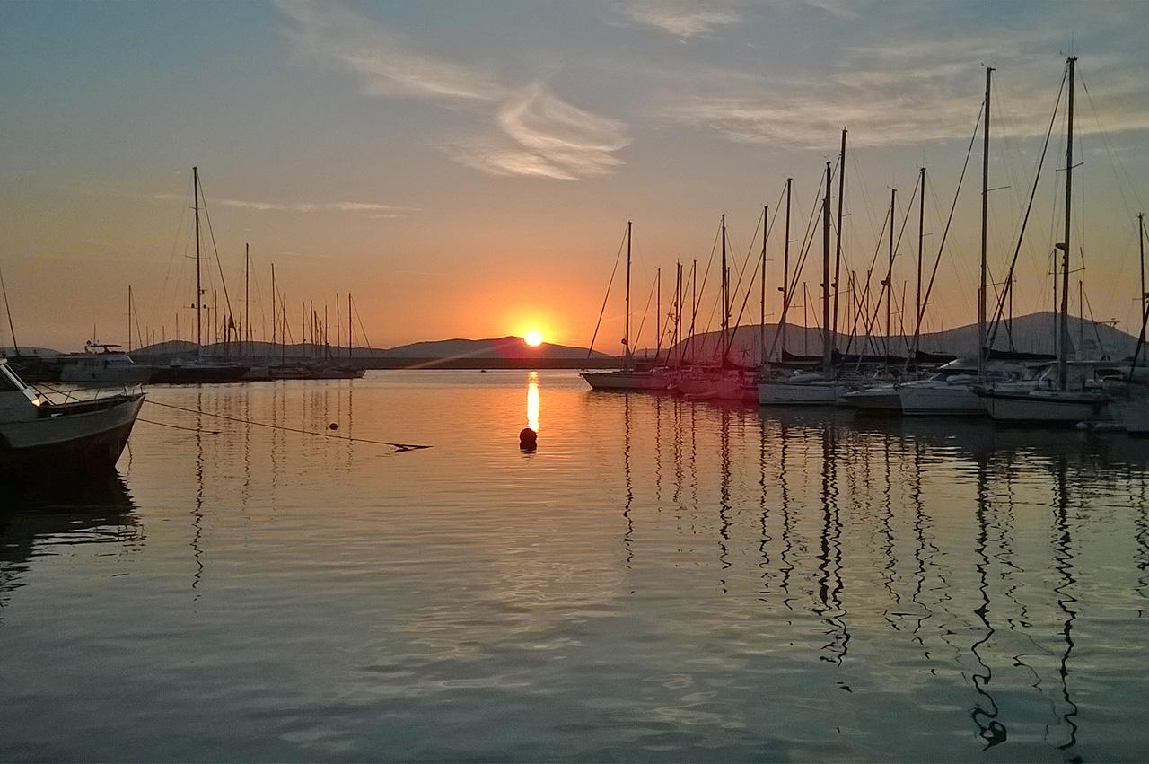Alghero al tramonto